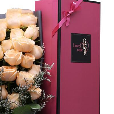 天天好心情-21支精品香槟玫瑰